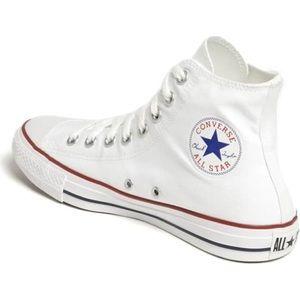 Converse - classic white high tops